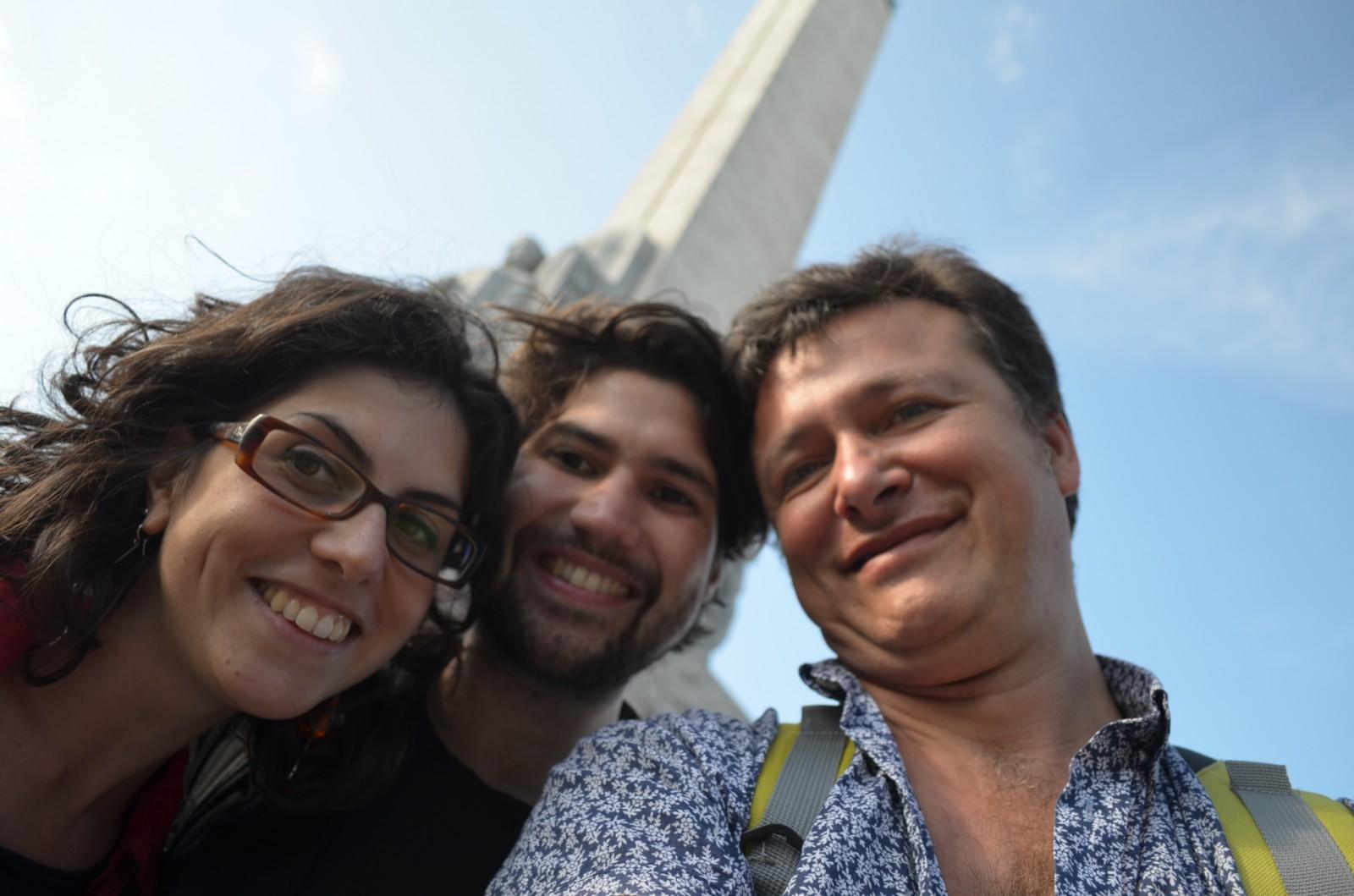 Giselda, Cristian and Cosmin
