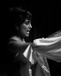 Priya Mistry (UK) and Özlem Alkış (TR) in residency in Romania